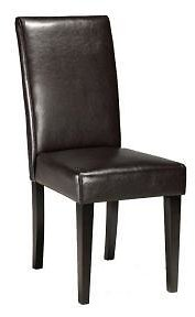 Home Decorators Collection Parsons Recycled Leather Side Chair
