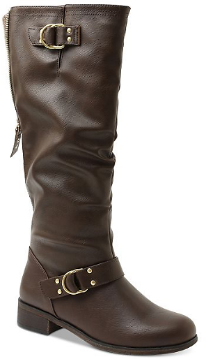 XOXO Minkler Riding Boots (2 Colors)