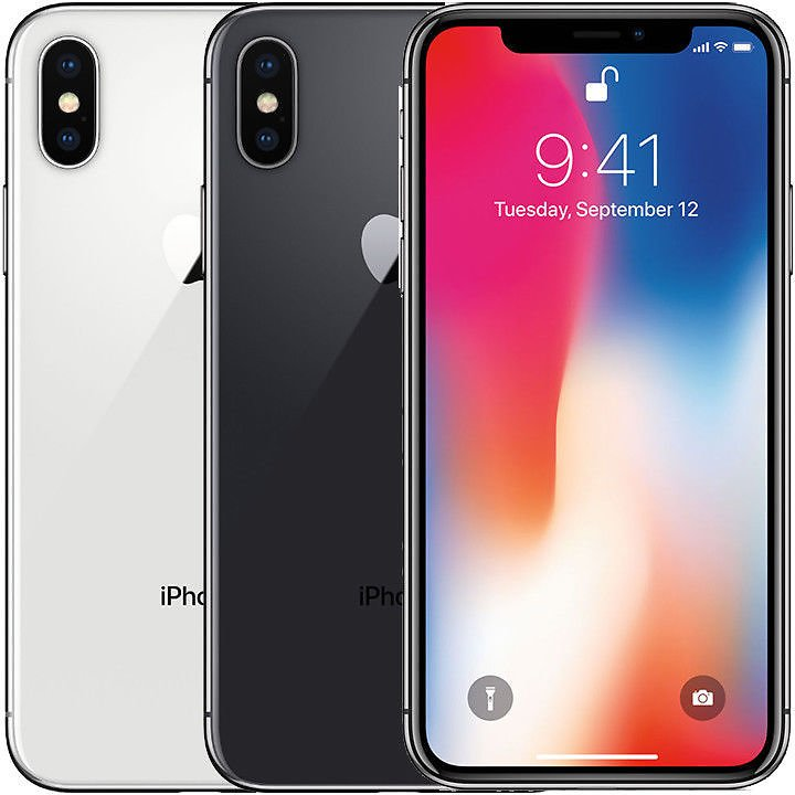 Apple IPhone X 64GB Factory Unlocked Smartphone (Refurb)