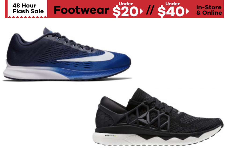 JackRabbit 48-Hour Flash Sale Footwear Under $40