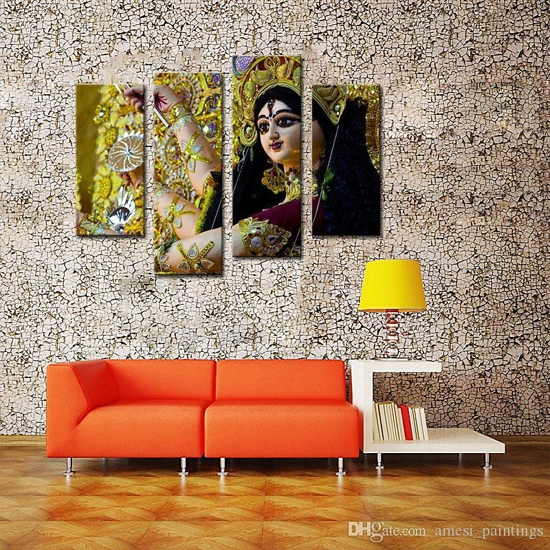 2019 4 Picture Combination Paintings On Canvas Contemporary Art Abstract Paintings Wall Decorations Paintings For Dancers In India From Amesi_paintings, $35.29 | DHgate.Com