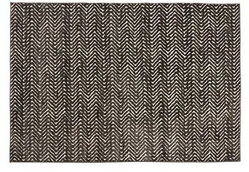 5'x7' Brown Zigzag Reflective Area Rug - Christmas Tree Shops and That!