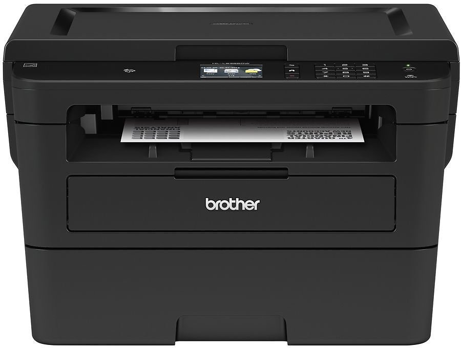 Brother Wireless Monochrome Laser Printer Copier Scanner HL L2395DW By Office Depot & OfficeMax