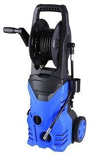 AplusBuy 1800W 2030PSI 1.8GPM Electric Power Pressure Washer w/ 4 Nozzles Detergent Tank Hose Reel