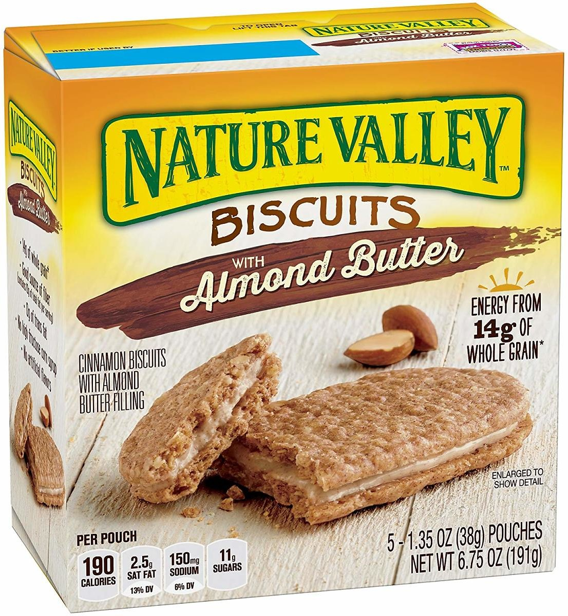 Nature Valley Almond Butter Biscuits