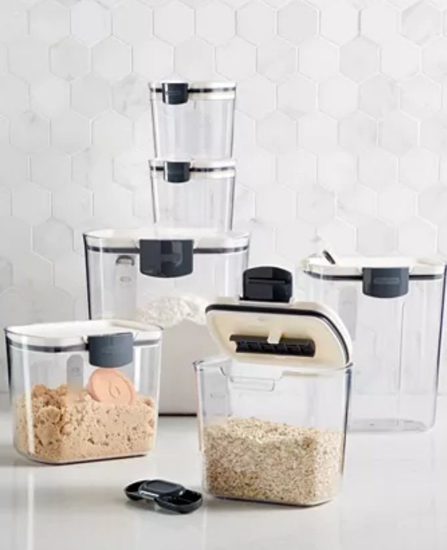 Martha Stewart Collection 6-Pc. Food Storage Set