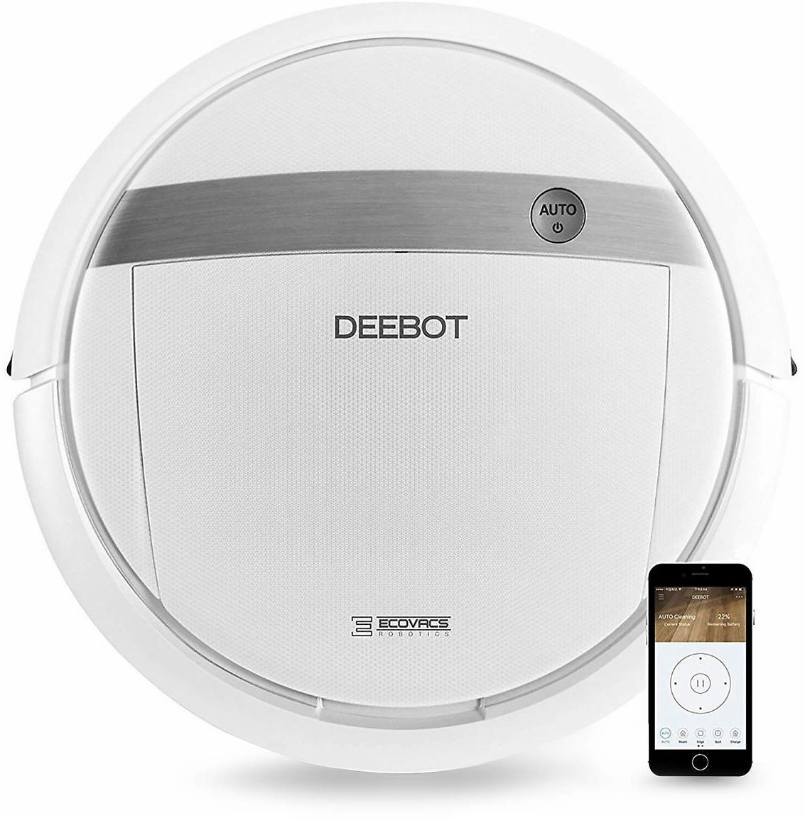 Ecovacs DEEBOT M88 Smart Motion Robotic Vacuum Cleaner with Dry Mopping Feature - BJs WholeSale Club