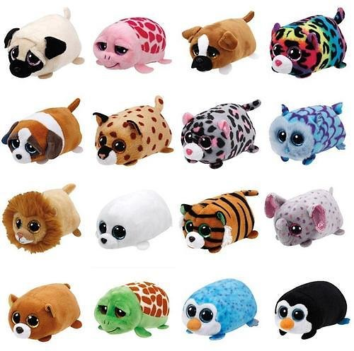 Mini Stuffed Plush Animal Doll + Ships Free