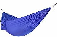 Yes4All Single Lightweight Camping Hammock with Carry Bag (Blue) - Ships Free