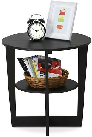 Furinno Oval End Table