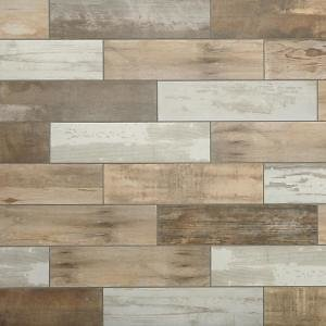 MARAZZI Montagna Wood Vintage Chic 6 In. X 24 In. Porcelain Floor and Wall Tile (14.53 Sq. Ft. / Case)-ULRW624HD1PR