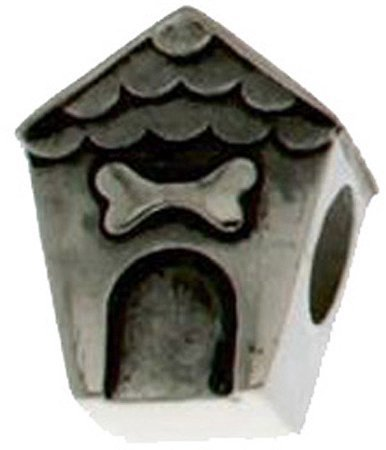 Connections from Hallmark Stainless Steel Doghouse Charm