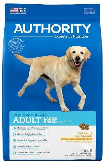 Authority® Large Breed Adult Dog Food - Chicken & Rice