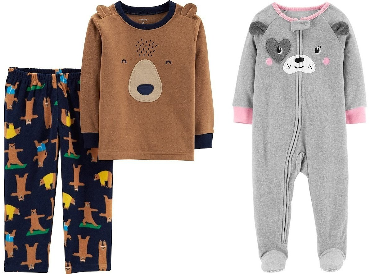 $7.99 Carter's Pajama Sets (Multiple Styles)