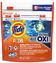 Tide Pods Ultra Oxi Liquid Detergent Pacs