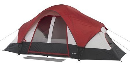Ozark Trail 8-Person Modified Dome Tent with Rear Window