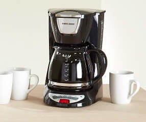 Black & Decker 12-Cup Programmable Coffee Maker with Glass Carafe - Big Lots