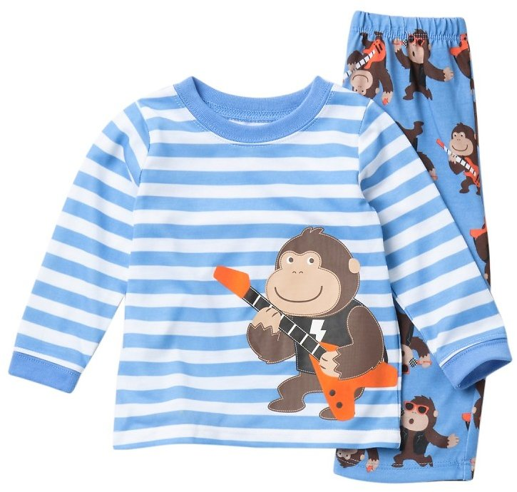 Little Me Gorilla 2-Piece Pajama Set (Baby Boys)