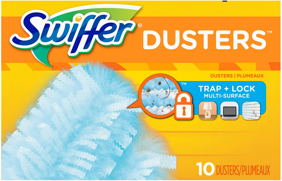 Swiffer Dusters Disposable Dusters, Refills, Unscented, 10 Dusters