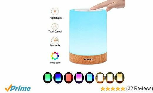 38% Off Night Light Touch Sensor Lamp Bedside Table Lamp
