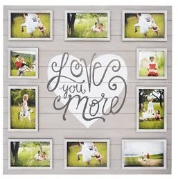 New View 'Love You More' Collage Frame Only $10!