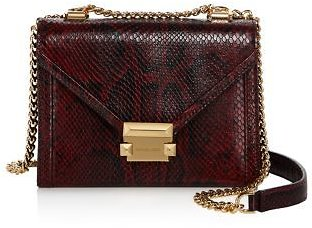 MICHAEL Michael Kors Whitney Small Leather Shoulder Bag - 100% Exclusive Handbags - Bloomingdale's