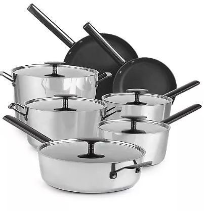 12-Pc. Performance Tri-Ply Non-Stick Cookware Set,