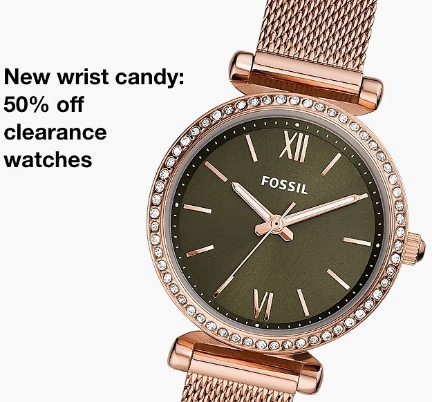 50% Off Sale & Clearance Watches