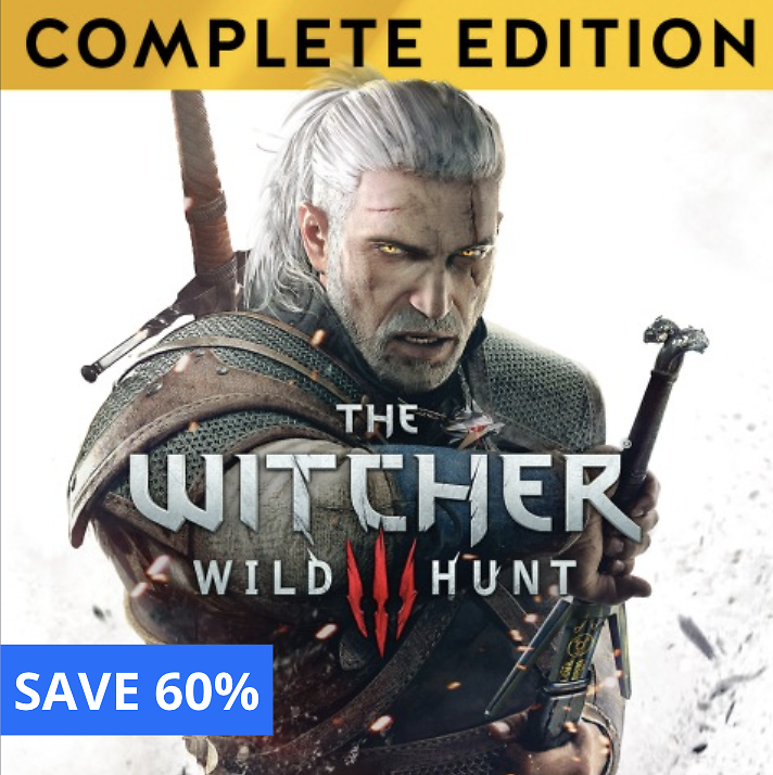 The Witcher 3: Wild Hunt - Save 70% -Offer ends 11/3/2020