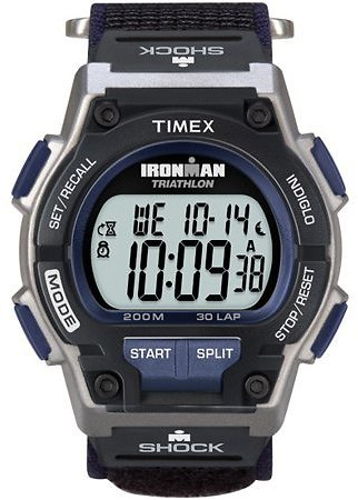 Timex - Timex Men's Ironman Endure 30 Shock Full-Size Watch, Black Fast Wrap Strap