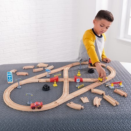 Disney® Pixar Cars 3 Build Your Own Track Pack By KidKraft with 57 Accessories Included