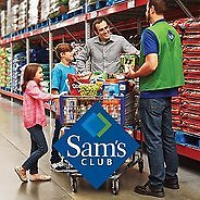 One-Year Sam's Club Membership with An EGift Card and Instant Savings