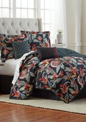 Modern. Southern. Home.™ 6-Piece Queen Size Poppy Quilt Bed-In-A-Bag Set  / Belk