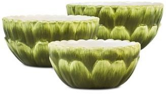 Martha Stewart Collection Farmhouse Artichoke Nesting Bowls, Set of 3