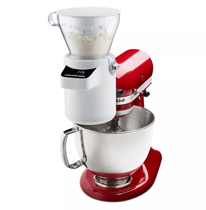 KitchenAid Sifter and Scale Attachment White