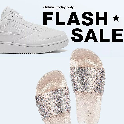 Today Only! 50-75% Off Shoes Flash Sale