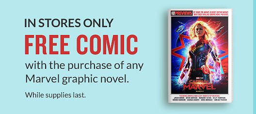 Free Comic w/ Any Marvel Graphic Novel (In-Store)