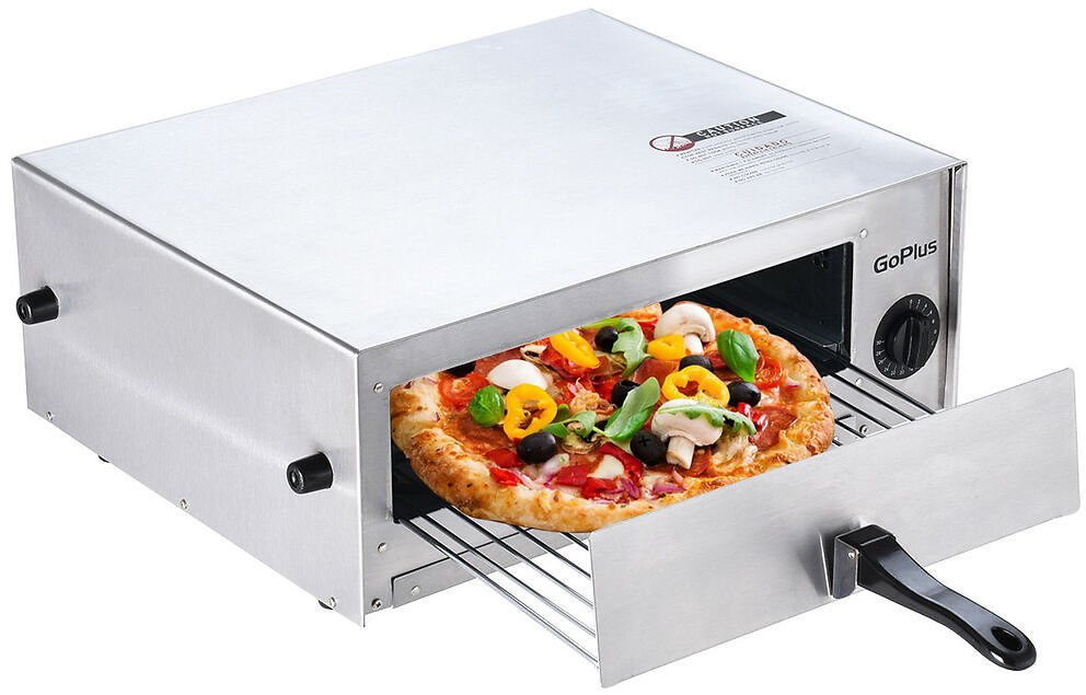 Home Kitchen Pizza Oven Stainless Steel Counter Top Snack Pan Bake Commercial 744759986863