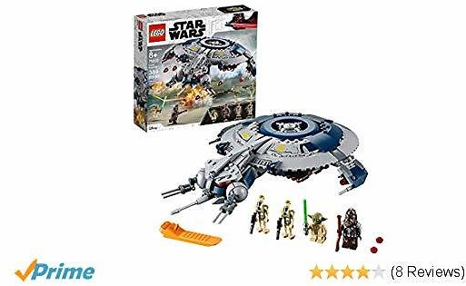LEGO Star Wars: The Revenge of The Sith Droid Gunship 75233 Building Kit, New 2019 (329 Piece)