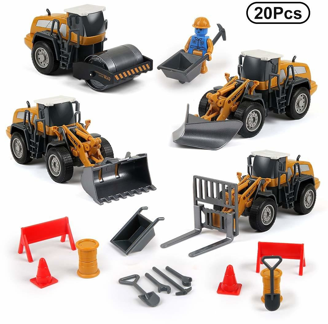 4-in-1 Take Apart Die Cast Car Toys