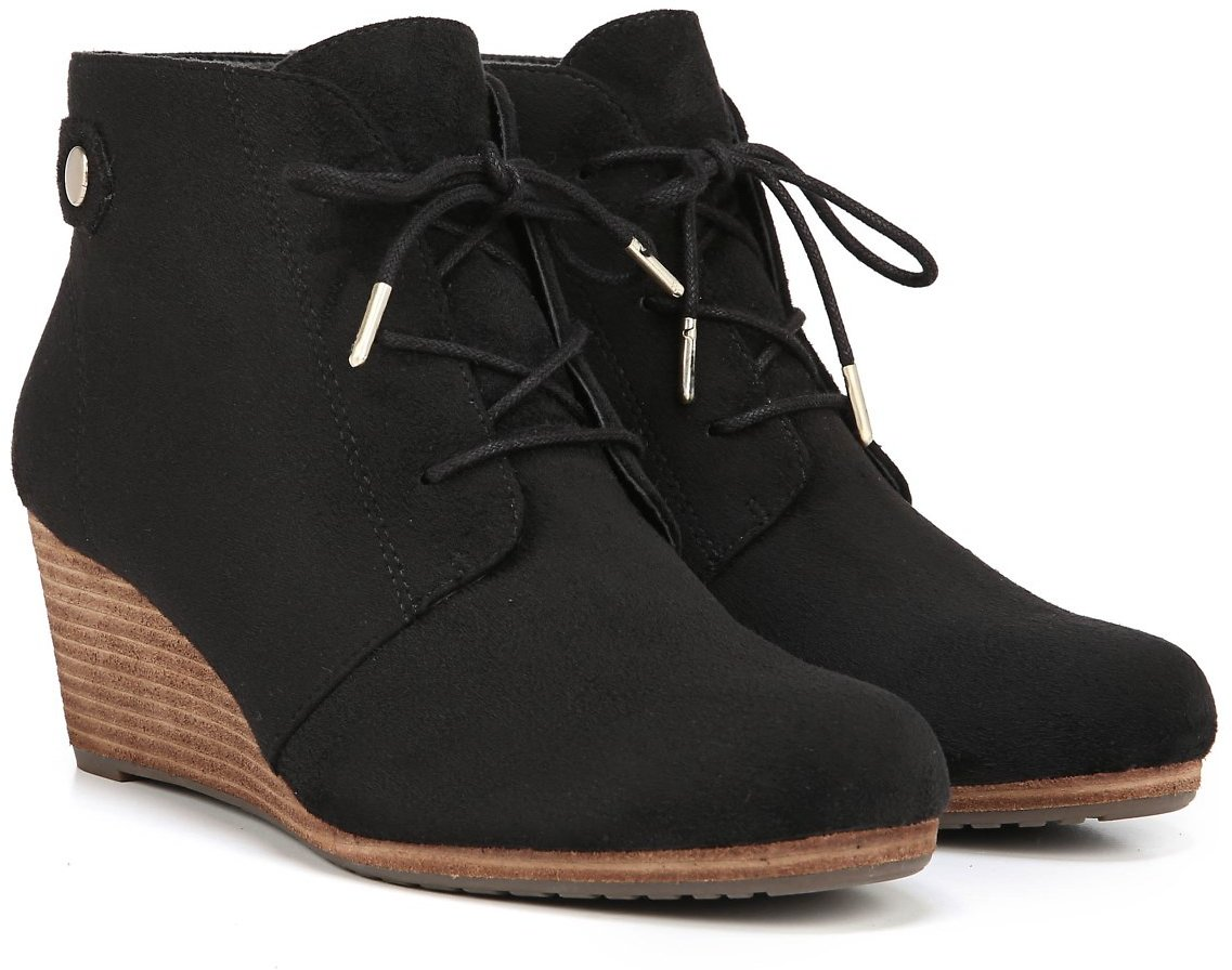 Dr. Scholl's Women's Dynasty Wedge Bootie - Toasted Coconut