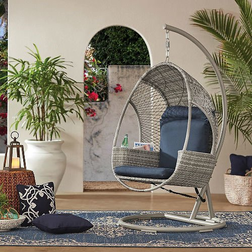 Big Price Drop! Woven Egg Chair (2 Colors)