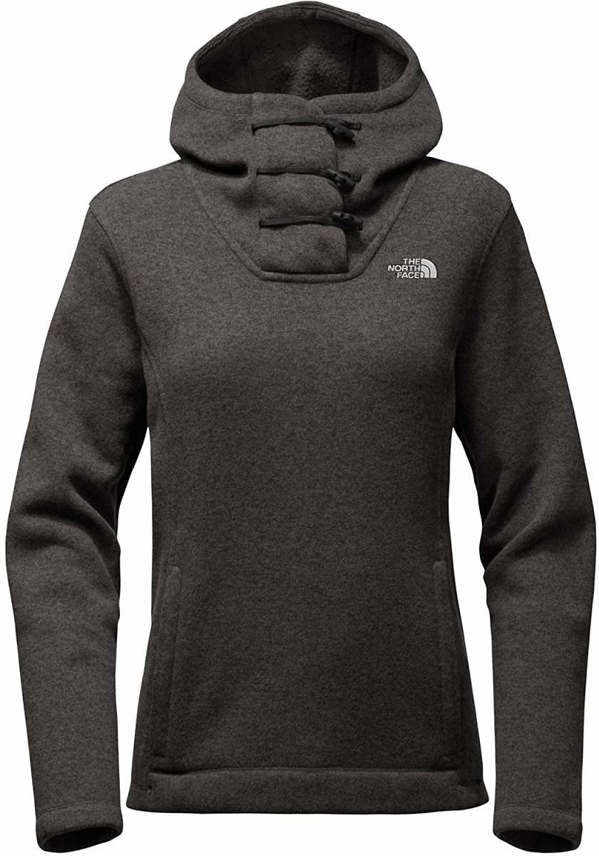 The North Face Women's Crescent Hooded Pullover - TNF Black Heather