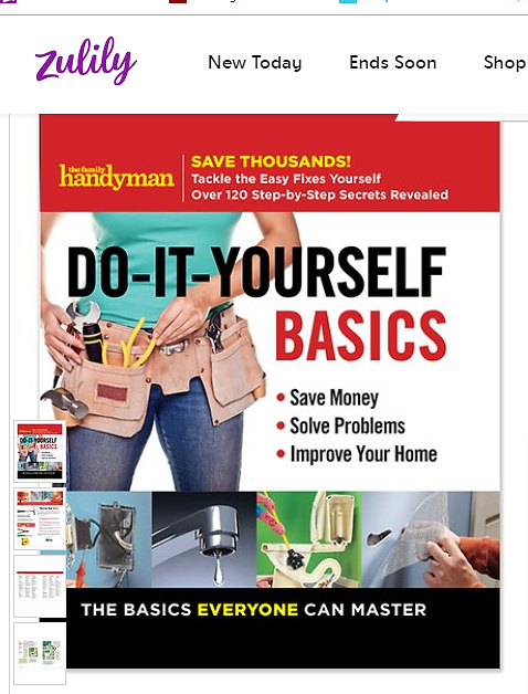 Love This Product Family Handyman Do-It-Yourself Basics Spiral-Bound Book