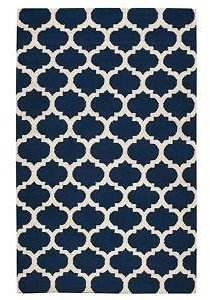 Home Decorators Collection Allure Navy 5 Ft. X 8 Ft. Area Rug-1324120320