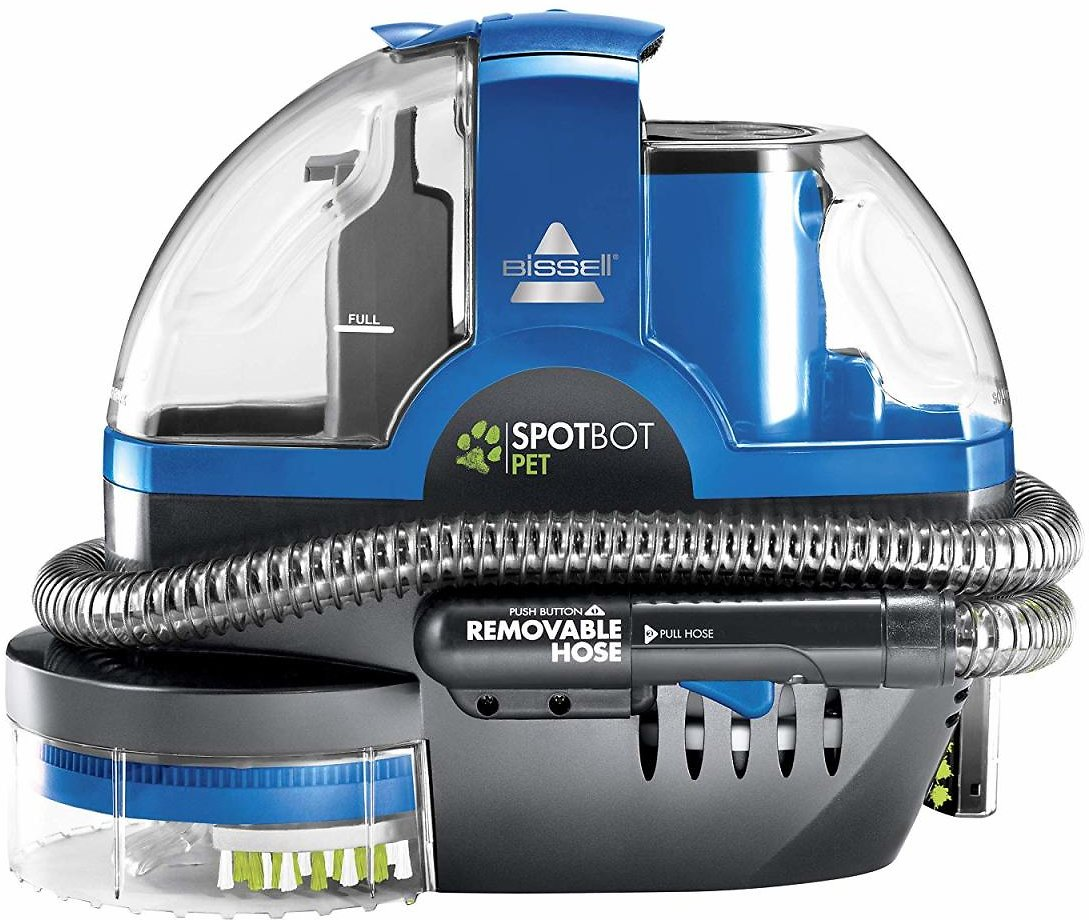 Bissell SpotBot Pet Handsfree Spot and Stain Portable Deep Cleaner, Blue