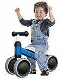 Joychoic Balance Bike-Training Bike for Ages 18 Months to 5 Years-Blue: Sports & Outdoors