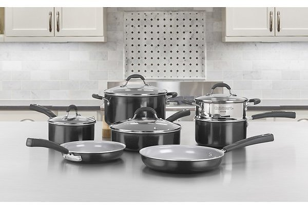 Cuisinart 11 Piece Non-Stick Cookware Set