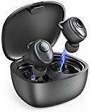 True Wireless Earbuds Headphones – Superior 3D Stereo Sound 5.0 Mini in Ear Bluetooth Earbuds, 18Hr Play Time, SweatProof Sports Earphones Headset, Built in Microphone & Dual Speakers for Phone Calls: Cell Phones & Accessories