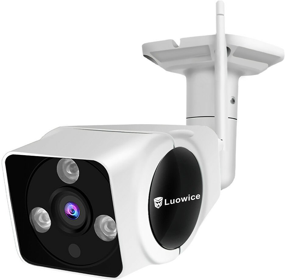 Wireless Security Camera Outdoor WiFi Night Vision 50ft with One-Way Audio 720P 750440854922